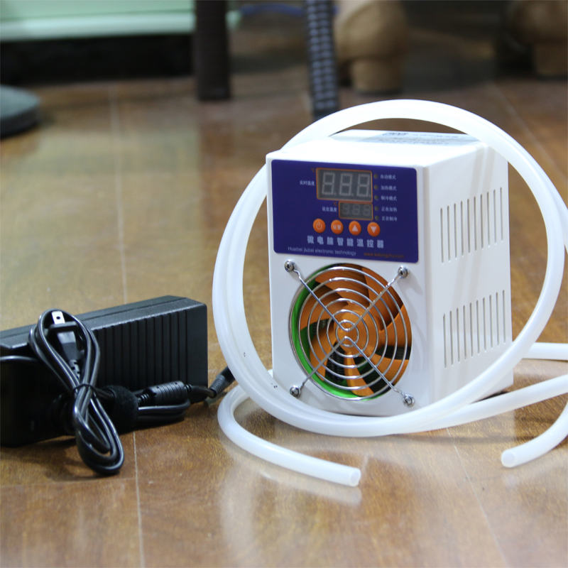 Mini Water Chiller Cold Aquarium Fish Tank Cooler temperature control 20~35  Liters Approval