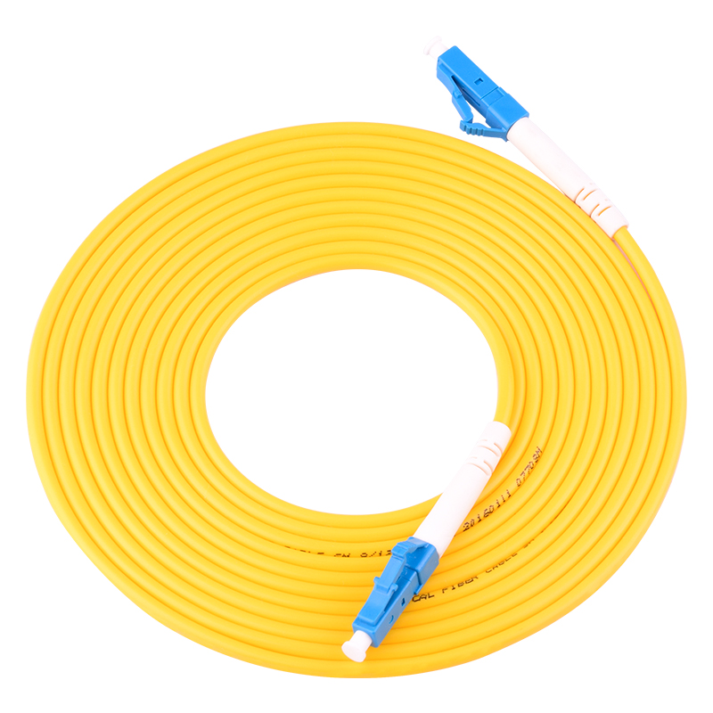 10PCSbag LC UPC 3M Simplex mode fiber optic patch cord Cable LC UPC 3.0mm FTTH fiber optic jumper cable