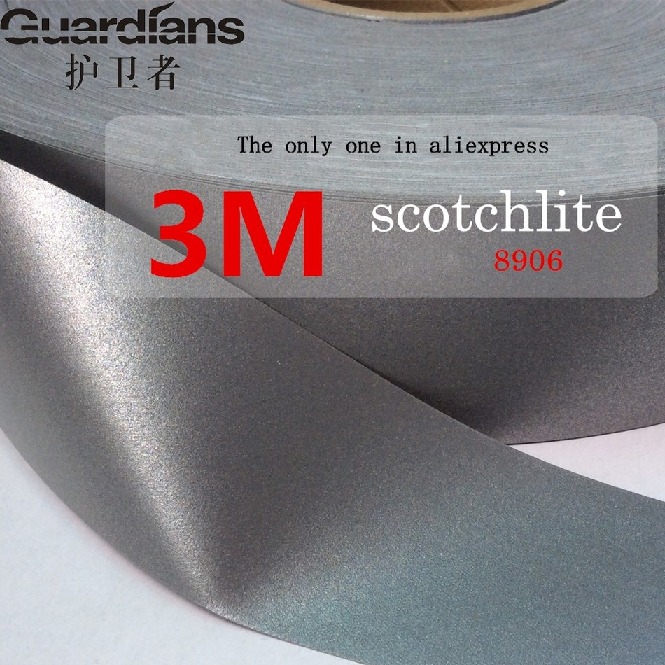 3M reflective tape reflective cloth sewing clothing textiles bath DIY safety reflective material one pc 1