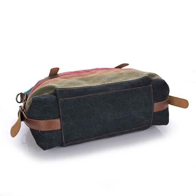 Fashion Canvas Bag Brand Women Handbags Patchwork Casual Women Shoulder Bags Female Messenger Bag Ladies 2017 Autumn Purse Pouch