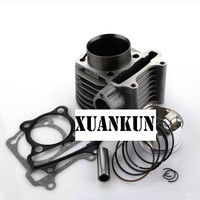 XUANKUN Motorcycle Accessories GY6 125 Cylinder Scooter Cylinder Block Cylinder Assembly