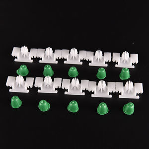 Image 4 - Car Door Bump Strip Fasten Clips Exterior Side Trim Moulding For BMW E36 1992 2000 Hot Sale 10pcs