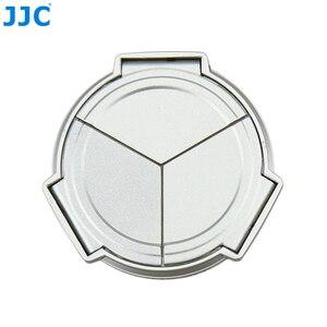 Image 3 - JJC Camera Silver Open Close Automatic  Self Retaining Protector Auto Lens Cap for PANASONIC DMC LX5 & Leica D Lux5 (silver)
