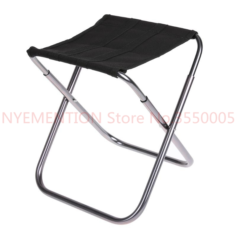 Aluminium Alloy Folding Fishing Seat Stool Portable Foldable Fishing Chair for Outdoor Camping Fishing Picnic BBQ Beach 50pcsAluminium Alloy Folding Fishing Seat Stool Portable Foldable Fishing Chair for Outdoor Camping Fishing Picnic BBQ Beach 50pcs