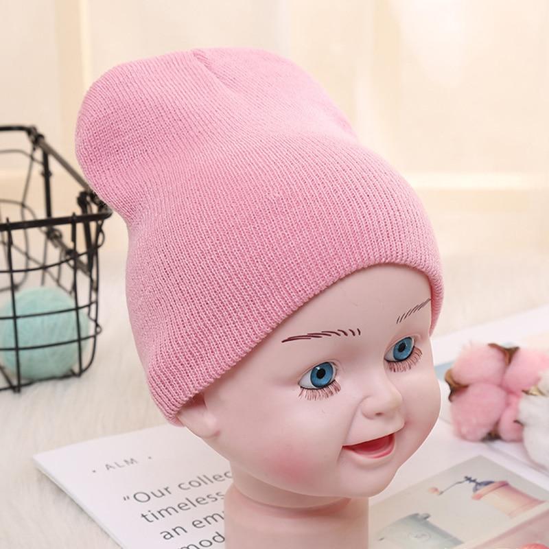 Newborn Baby Knot Cotton Hat Toddler Kids Boys Girls Infant Soft Beanie Cap Hat