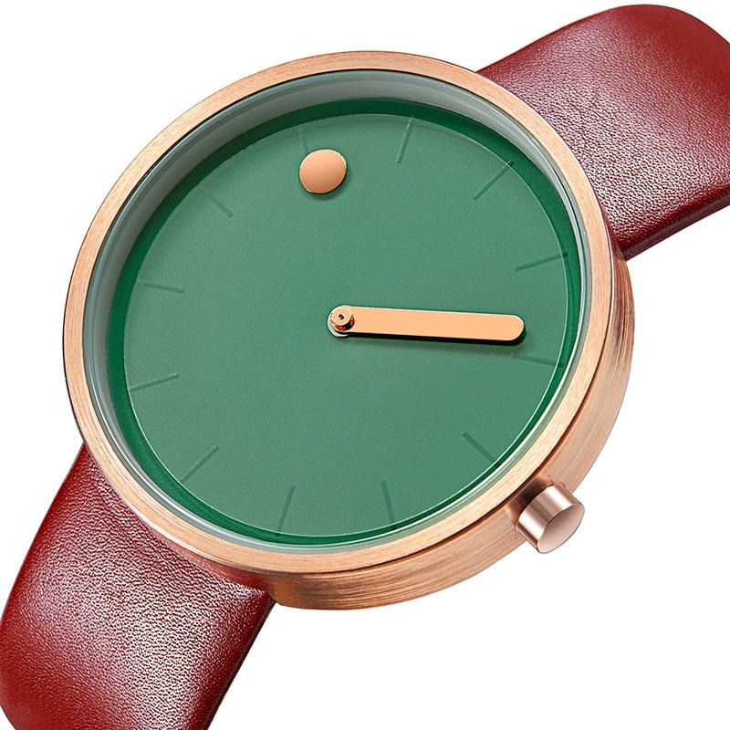 GEEKTHINK Dameshorloges Elegant Kleurrijk Eenvoudig Blauwgroen Japan - Herenhorloges