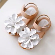 Kids shoes Girls 2017 New Summer Female Child Girls Sandals Flower PVC Princess Baby Girls Shoes fashion sandals 2019autumn new girls princess shoes suede metal square buckle child flats little kids female baby princess shoes with rhineston