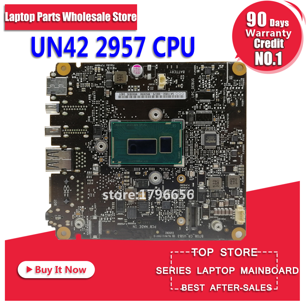 UN42 Motherboard 2957 CPU For ASUS UN42 Desktop motherboard UN42 All-in-one Mainboard UN42 Motherboard test 100% ok все цены