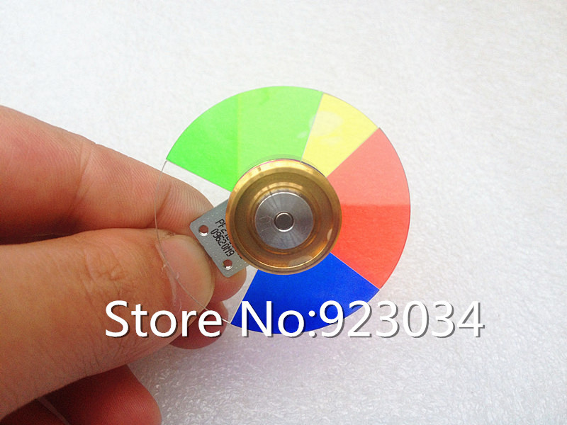ФОТО Wholesale Projector Color Wheel for  VIVITEK D512-3D D536-3D D538W-3D D510DM D513W D537W D522WT PF21DC9005