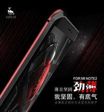 Металлический бампер Luphie Капа Для Сяо Mi Note 2 двойной Цвет серии Алюминий Рамки Чехол Для Сяо Mi mi Note2 чехол