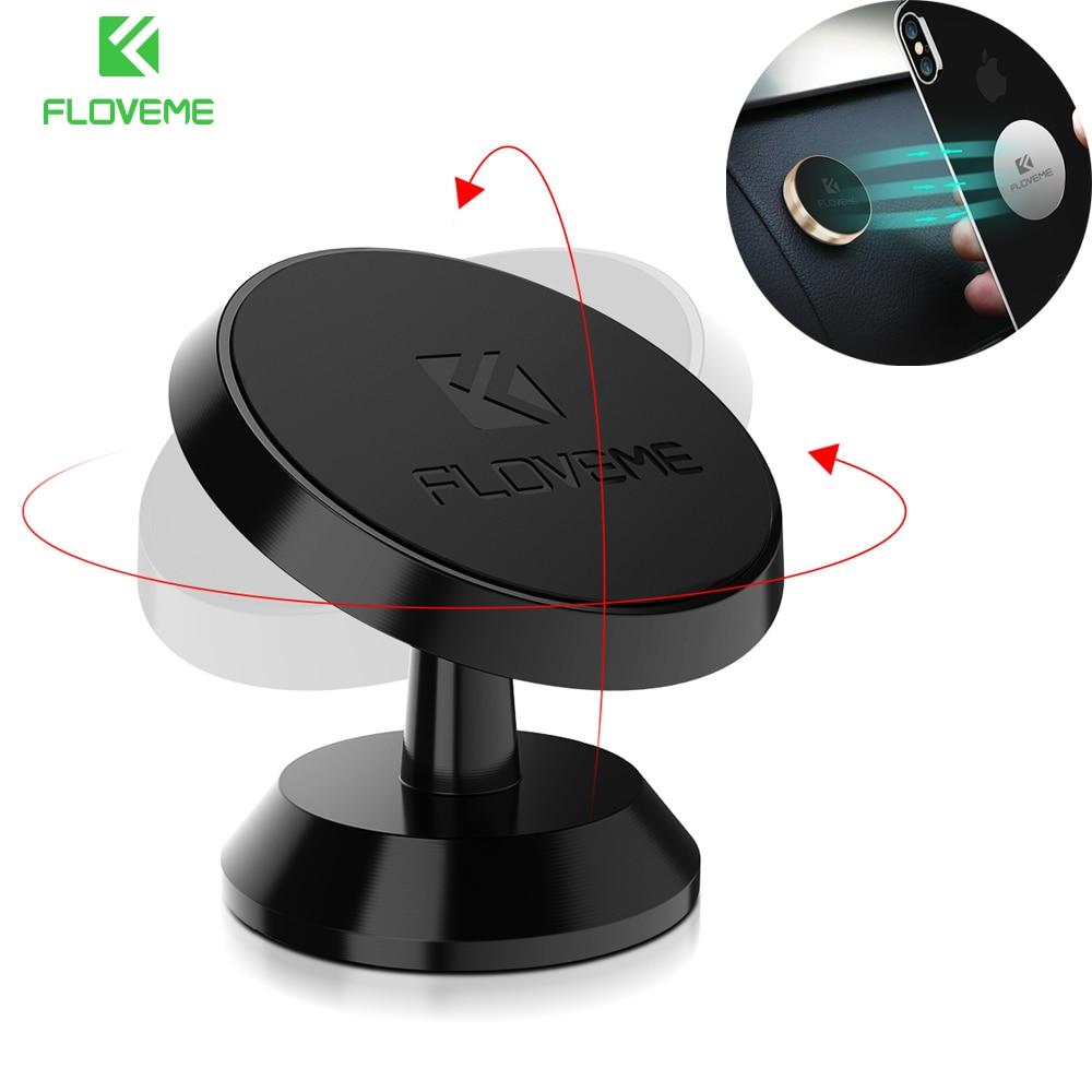 FLOVEME Car Phone Holder For Samsung S Plus Xiaomi Universal Magnetic Car