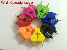 50pcs/lot High Quality FOX 40 Referee Whistle Classic Basketball/Football / Volleyball / Tennis/Dolphin Whistle with canada logo