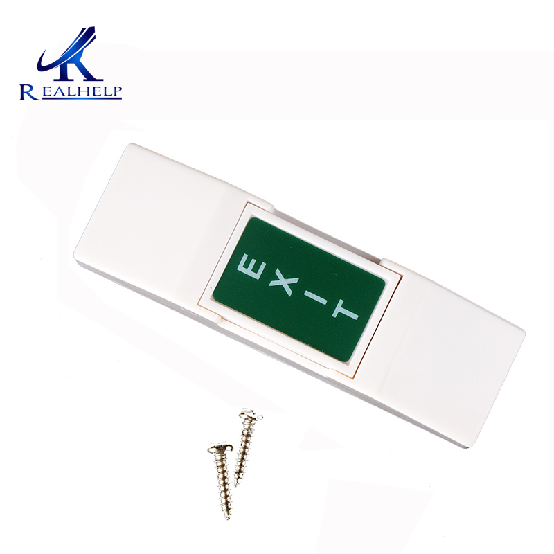 NC NO COM Telephone Entry System Controlled Mini Push Button Switch For Electronic Access Control System OF/ON Buttons