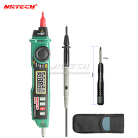 M040 New MASTECH MS8211D Pen Type Handheld Auto Range Voltage Current Tester Multimeter FREE SHIPPING