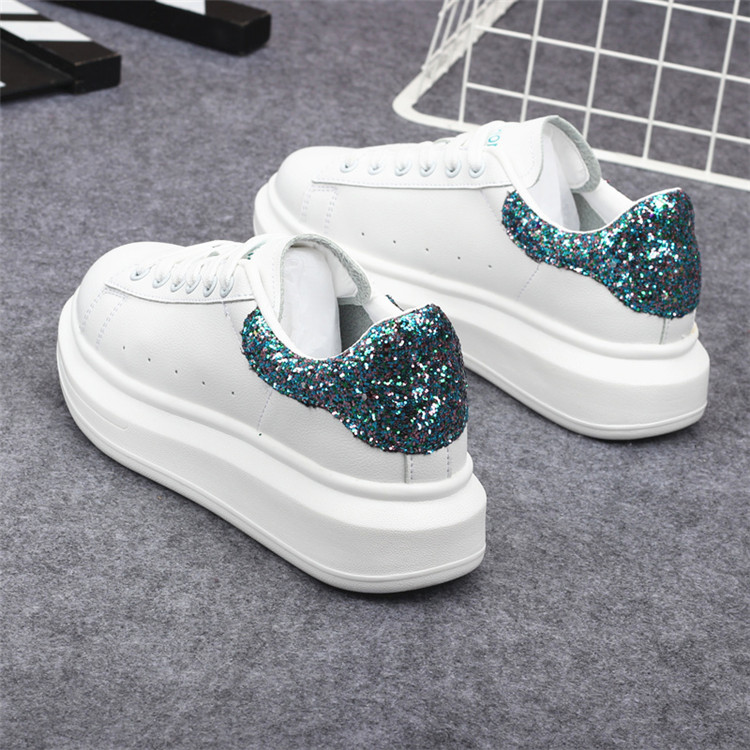 New Fashion Vulcanize Shoes Trainers Women Sneakers Casual Shoes Basket Femme PU Leather Tenis Feminino Zapatos Mujer Plataforma 71