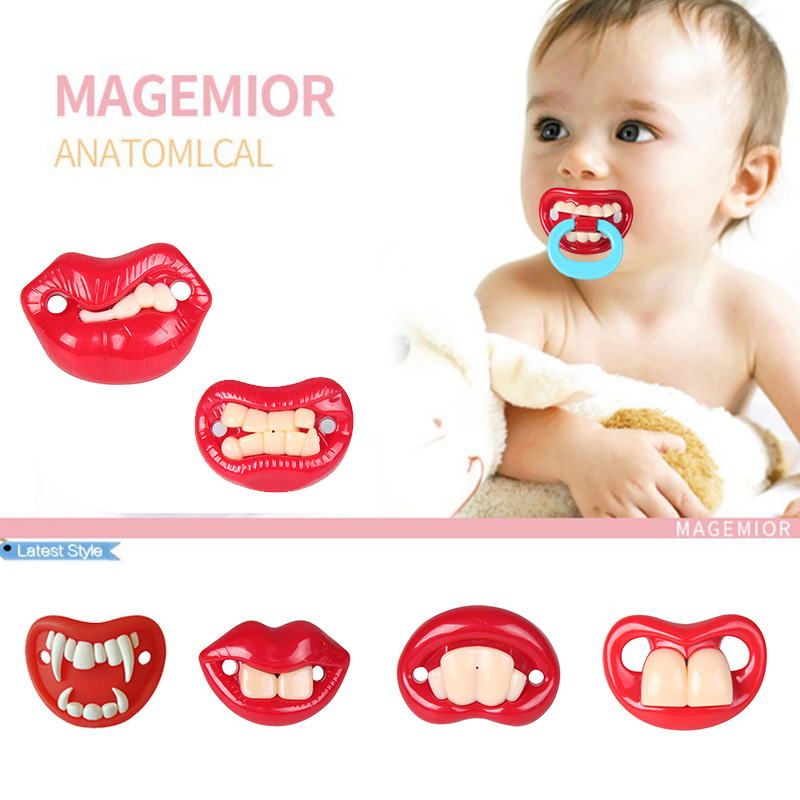 Food Grade Silicone Baby Pacifiers Nipple Teether Pacifier Orthodontics Pacifiers Teat for Baby Pacifier Gift