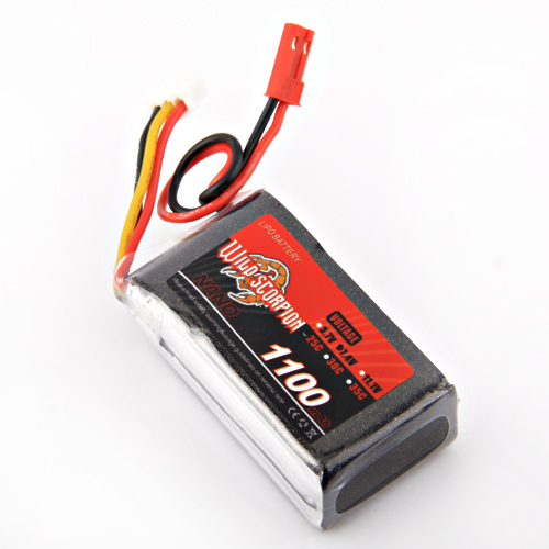 1pcs Wild Scorpion 7.4V 1100mAh  25C 2Cells LiPo Battery For RC Quadcopter Drone Helicopter Car Airplane 1pcs wild scorpion rc lipo battery 11 1v 2200mah 35c li polymer rc battery for rc quadcopter drone helicopter car airplane
