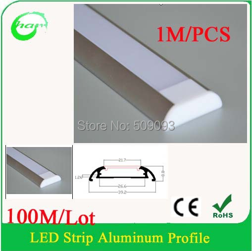 100mlot slim line led strip profile mounting aluminum led strip 100mlot slim line led strip profile mounting aluminum led strip light profile frosted cover mozeypictures Image collections