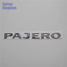 Forten Kingdom Fit PAJERO слова ПВХ пластиковые 3D буквы значок задний багажник на заказ таблички эмблема, логотип, наклейка-этикетка