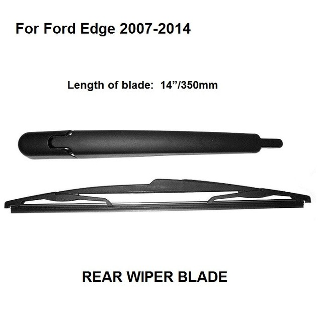 Car Styling   For Ford Edge Rear Window Windshield Wiper Arm With Blade Complete