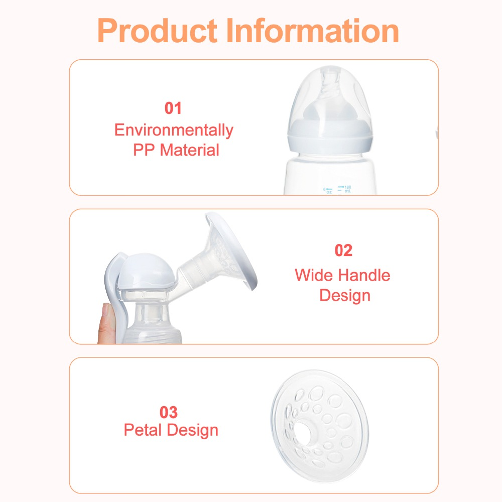 USB Chargeable Automatic Breast Pump with Milk Bottle Made with BPA free Material for Milk Feeding 23