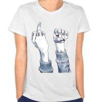 Rebellious Attitude Logo 2017 Women S T Shirts Short Casual Broadcloth Woman S T Shirt O