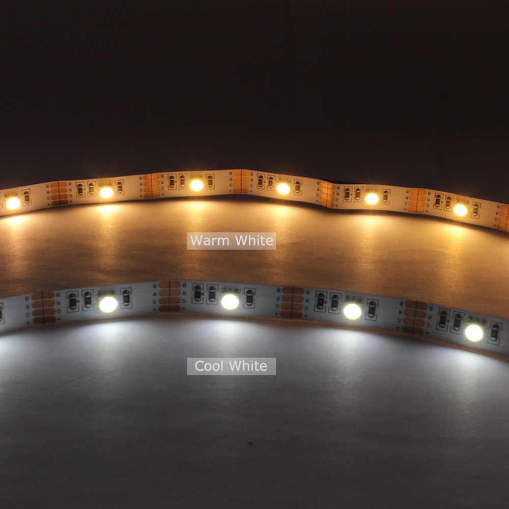 Светодиодный Подсветка ТВ USB 5 V Светодиодные ленты свет SMD 5050 лента Гибкая ТВ Подсветка RGB ленты для компьютера светильник