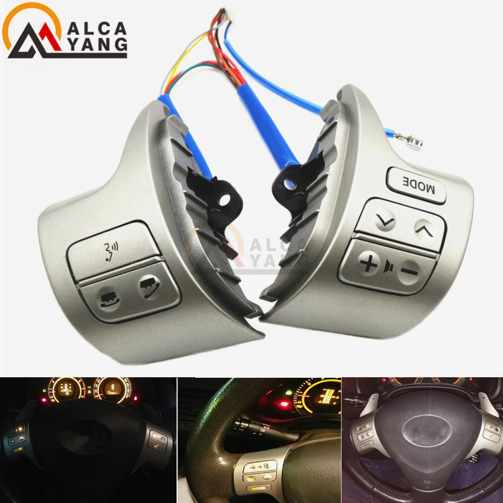 Bluetooth Steering Wheel Audio Control Switch 84250-02200 For Toyota Corolla ZRE15 2007 ~2010 steering wheel switch audio bluetooth control 84250 02560 8425002560 for toyota rav4 corolla 2014 2015