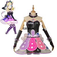 Люблю жить солнце Aqours Mari охара Cyber видео игры Футболка Топ платье равномерное наряд аниме Костюмы для косплея