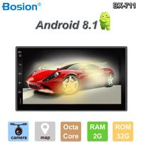 Bosion Android Car DVD Octa 8 Core 2G RAM 32GB ROM Car GPS 2 din Universal car Radio dvd player for