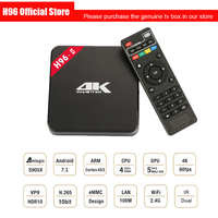 H96 2nd Gen Smart TV Box Amlogic S905 Octa Mali 450MP GPU 1G 8G 2G 16G