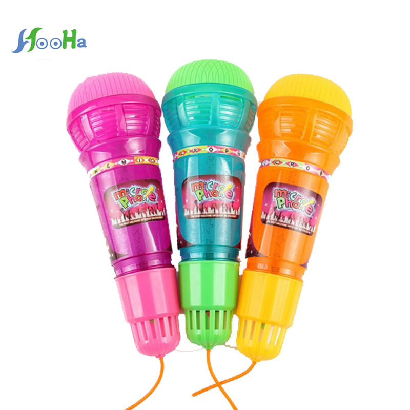 2017 New Echo Microphone With Light Sound Echo Toys Children's Gift With Electric Flash Portable Educational Toy