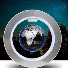 LED World Map Novelty Magnetic Levitation Floating Globe Geography Tellurion Wit Anti-gravity Creative