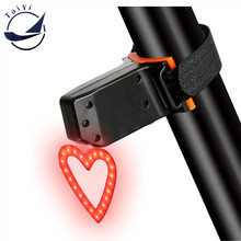 TAIYI Cycling Equipments Led Bicycle rear Light waterproof usb rechargeable Mountain Bike Tail Light