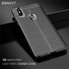 BSNOVT sFor Xiaomi Mi Mix 3 Case Cover Soft Silicone TPU Leather Shockproof Phone For Case Xiaomi Mi Mix3 Fundas Mi Mix3 6.39