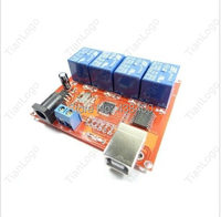 USB Relay 4 Channel Programmable Computer Control For Robotics Smart Home T