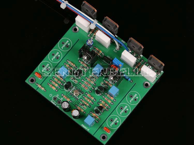 Assembly K1058/J162 Mono HiFi Amplifier Board Based on Goldmund Power Amplifier Circuit цена и фото