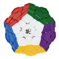 New Dayan Megaminx Cube Con Angolo Creste Stickerless Dodecaedro Cubo Magico Di Puzzle Educativi Giocattoli Speciali