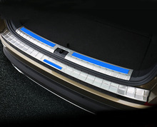 2pc for SKODA KODIAQ Trunk Guard Threshold bar Stainless steel decorative strip