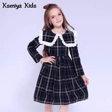 68d84d783 Popular Peter Pan Collar Kids Long Sleeve Dress-Buy Cheap Peter Pan ...