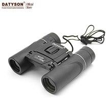 On sale 8×21 Compact Zoom Binoculars Long Range 3000m Folding HD Powerful Mini Telescope BAK4 FMC Optics Hunting Sports Black