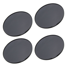 4 Pieces Universal 72mm Adhesive Car Dashboard Mount Disk Pad Plate For Auto Suction GPS