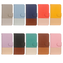 For Huawei Y5 2019 Case Leather Two-color Stitching Flip Card Slot Wallet Protection Cover For Huawei Y5 Prime 2018 phone Case