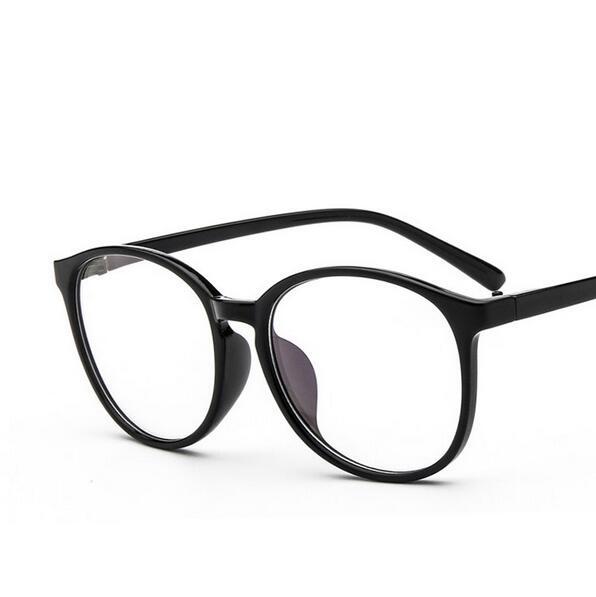 Gafas البيع المباشر خلات للجنسين الصلبة 2017 جديد وصفت النظارات إطار المتضخم النظارات المستديرة 2340 مكافحة التعب القراءة