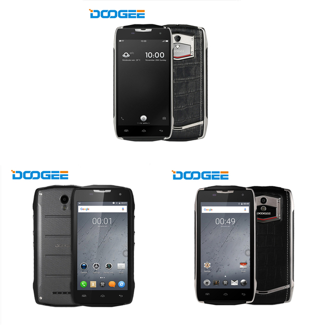 Doogee T5/T5S/T5 Lite Android 6.0 5.0 inch 4G Business Smartphone MTK6753 Octa Core 1.3GHz 2GB+16GB/3GB+32GB 8MP/13.0MP Camera