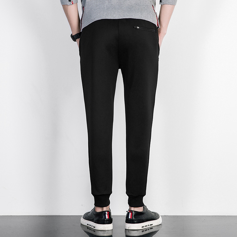 Mens Closed Bottom Light Weight Jersey Sweatpant Mens Joggers Brand Clothing Male Trousers Men Casual Pants Sweatpants Jogger