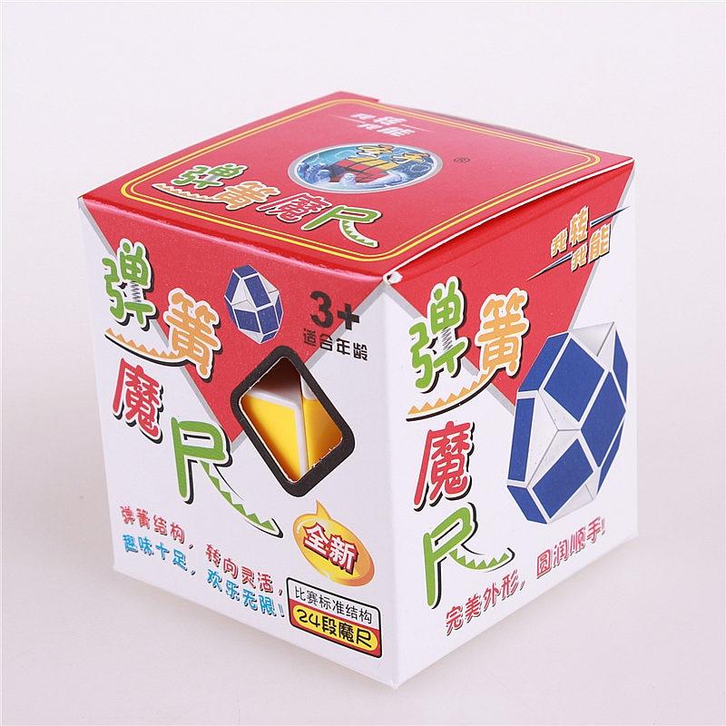 Magiska orm linjal pussel leksak 24 hastighet block snake twist - Spel och pussel - Foto 6