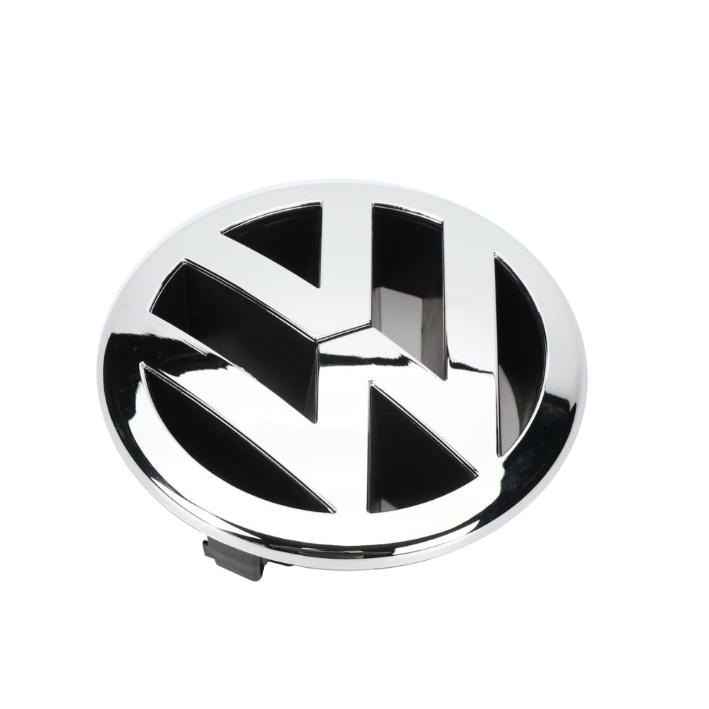 130mm parrilla delantera Emblem Logo para VW Volkswagen Passat 06-11 Touareg 07-10 Touran Golf más 2005-2009 5M0 853 601 FDY