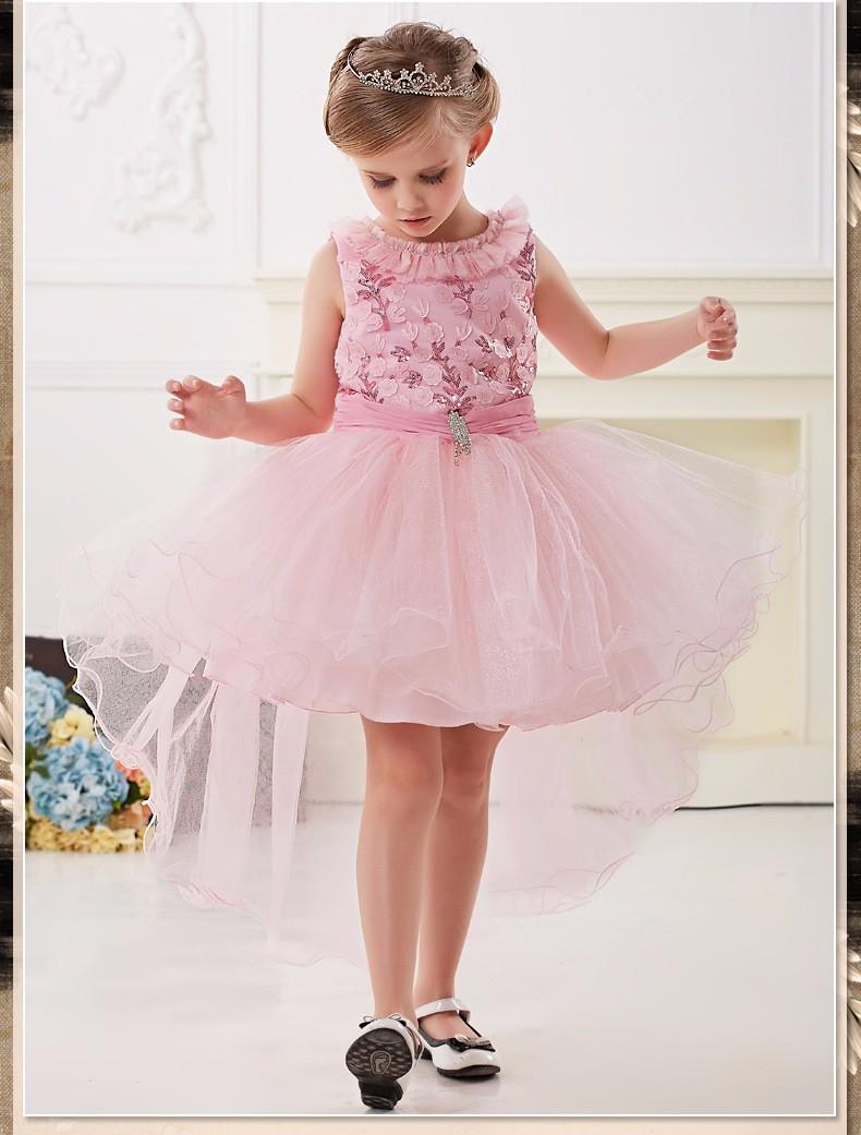 1782b3e23 Fantasia Halloween Fantasy Party Princess Kids Dress Elsa And Anna ...
