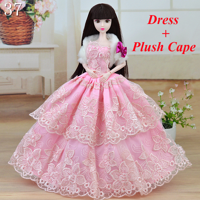 15 Types Fairly Costume Get together Princess Lace Robe Style Outfit Clothes For 1/6 Toy Barbie Doll Child Toys for Women Reward